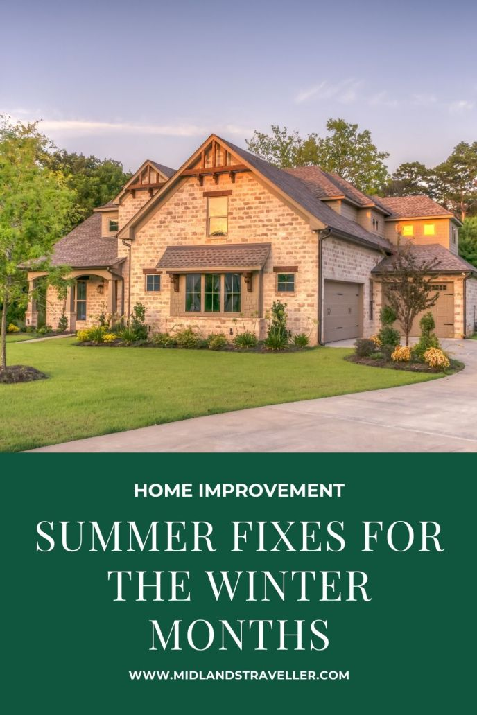 summer Fixes for the Winter Months