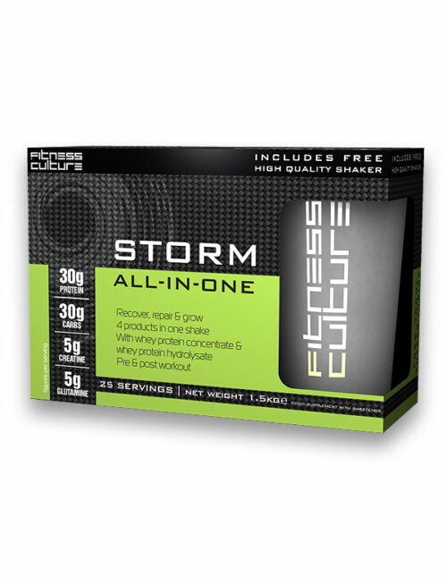 Fitness culture storm - all in one