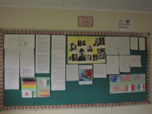 4th Class World War 2 Display