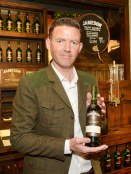 """No Reproduction Fee """"Cork April 20th, 2015 X, Irish Distillers Pernod Ricard, was the first person to individually bottle a 700ml bottle of cask strength whiskey in Cork at the launch of 'Bottle Your Own' in the Jameson Experience, Middleton."""" Pic John Sheehan Photography"""