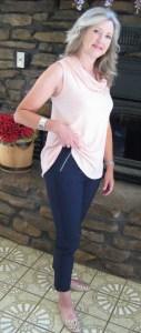 Francesca Skinny Pant on Mid-Life Blogger