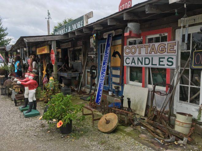 Flea Market in Gassville Arkansas