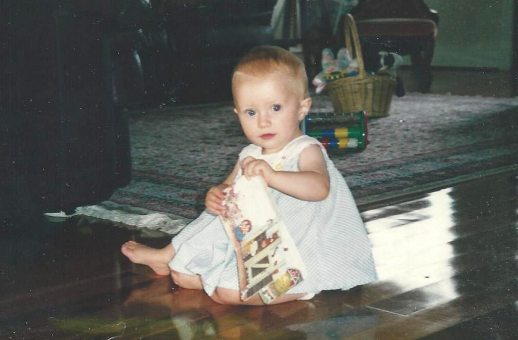 Margaret as a baby