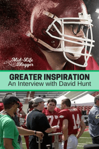 Greater Inspiration ~ An Interview with David Hunt