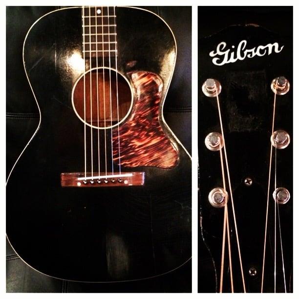 1937 Gibson guitar