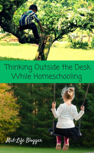 Thinking Outside the Desk While Homeschooling