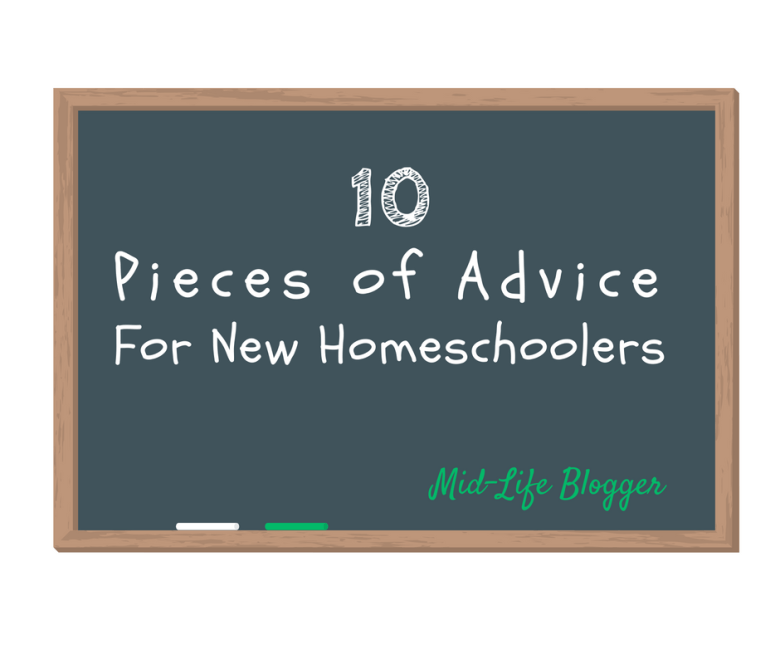 10 Pieces of Advice for New Homeschoolers