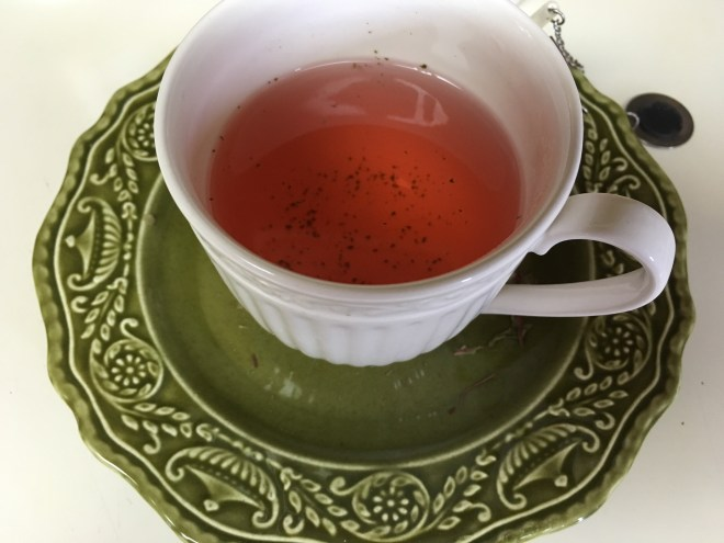 A Cup of Hot Thai Roselle Tea