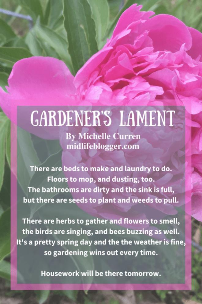 Gardener's Lament