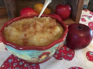 From Tree to Table ~ Homemade Applesauce