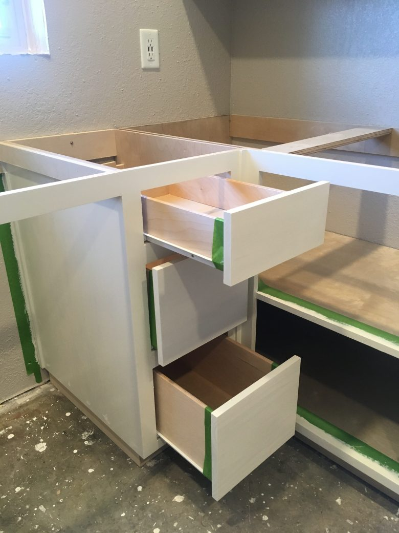 Watching Paint Dry - Painting Drawers