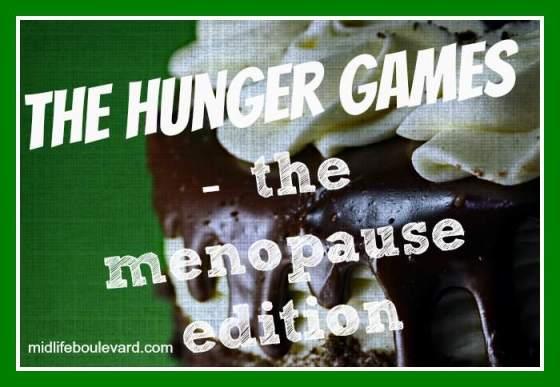 menopause, weight gain, menopausal weight gain, hot flashes, menopause symptoms, hunger games, chocolate cake, midlife, midlife women