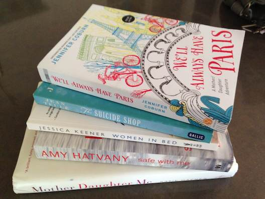 books to read, novels, book recommendations, we'll always have paris, amy hatvany, midlife, midlife women