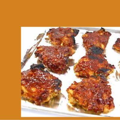 Skinny Chicken With Barbecue Sauce