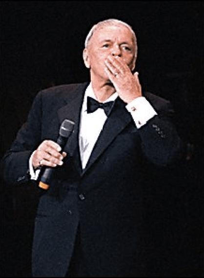Frank Sinatra - performance image