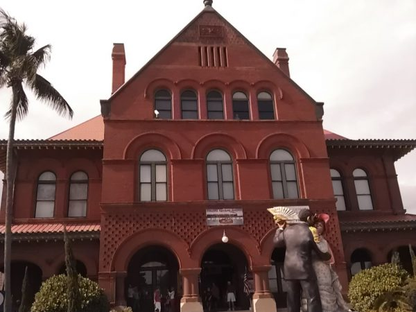 The Old US Customs House in Old Town Key West