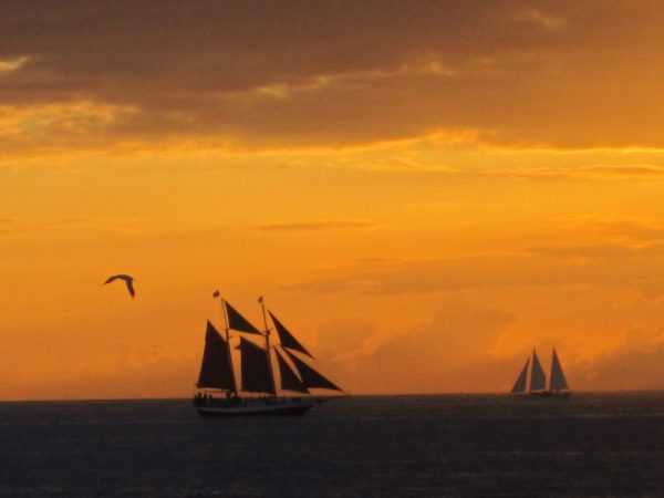 Key West sunset from Mallory Square