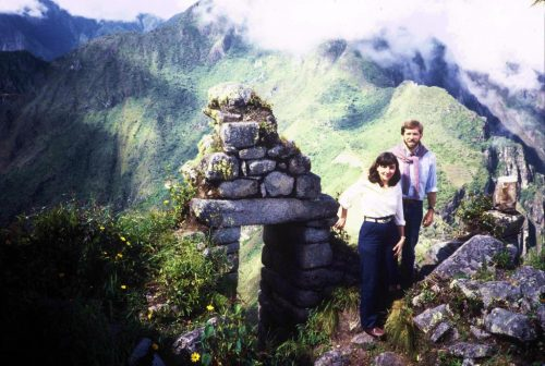 Atop Huayna Picchu