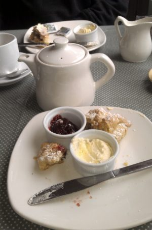 Tea and scones on the Ring of Kerry