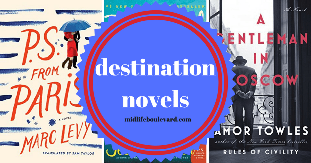 Destination novels perfect for book club.