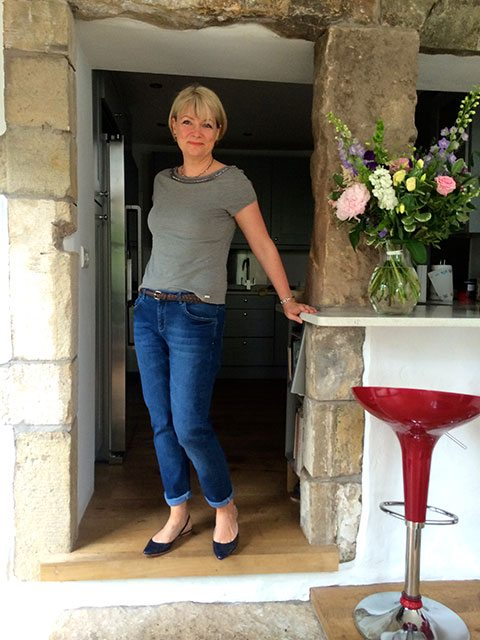 Chic boyfriend jeans for women over 40...and shorts! - Midlifechic