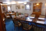 Admiral's dining room