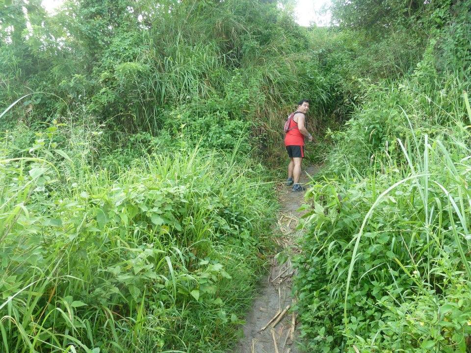 My first trail run (4/6)
