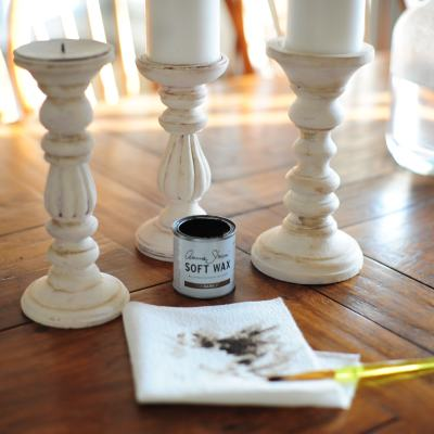Simple Farmhouse Candlesticks – DIY
