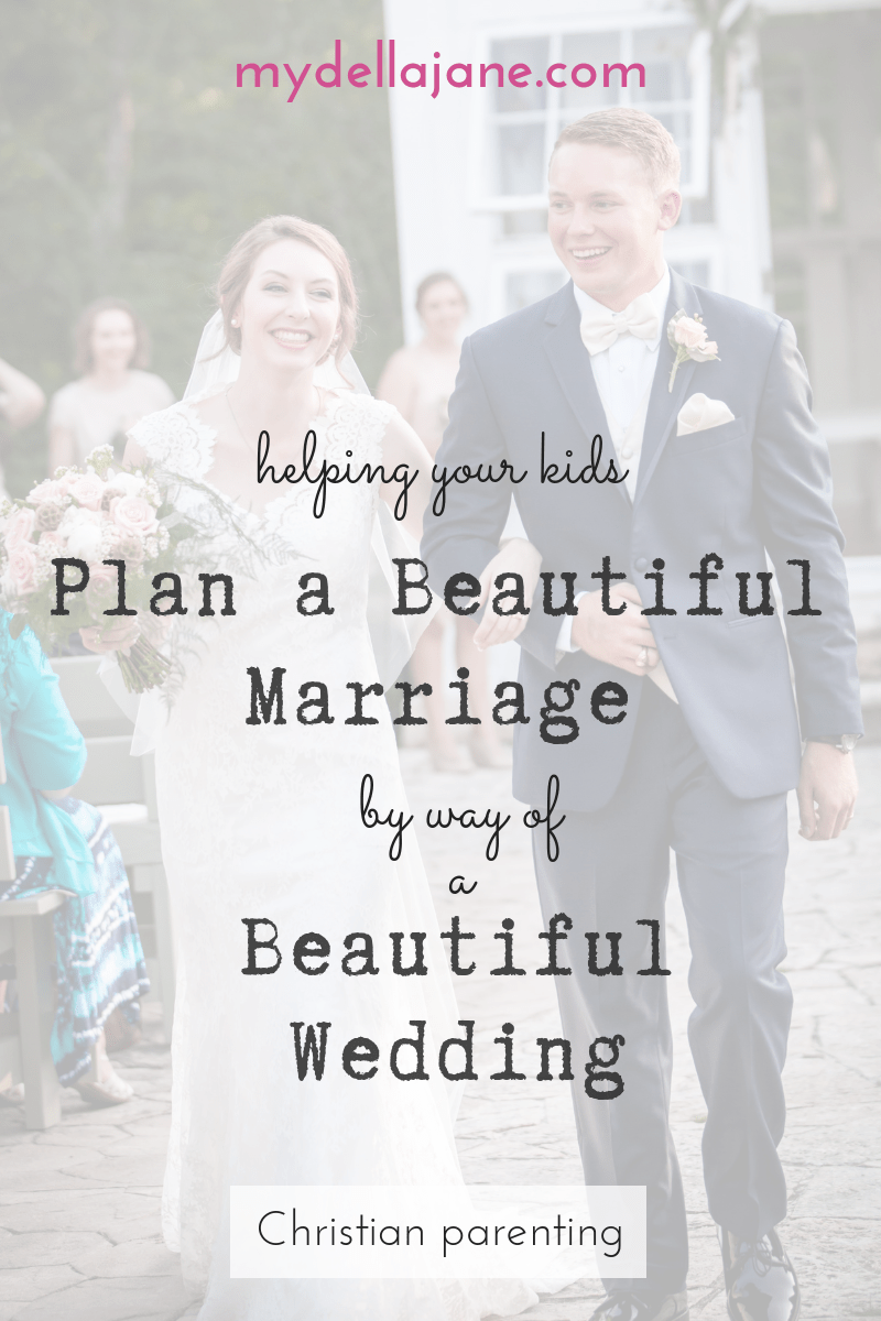 Helping your kids plan a beautiful wedding