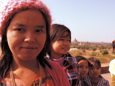 School Children - Bagan, Burma