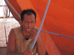 Local Fisherman, Makassar, South Sulawesi, Indonesia