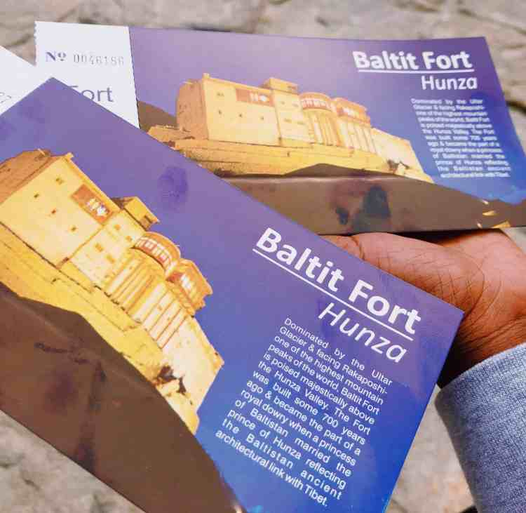 Altit and Baltit Forts in Hunza Valley