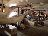 Below decks on HMS Warrior