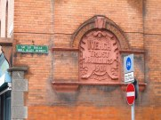 Such elaborate parts to blocks of flats and interesting street names, Dublin