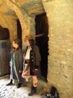 Guides at Eilen Donan Castle, Scotland
