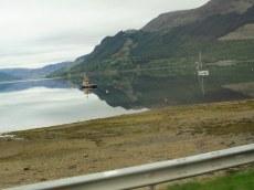On the way to Edinbrgh, Scotland