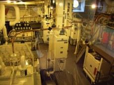 Engine room Britannia