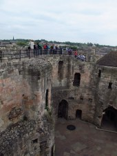 Looking across Clifford's Tower, York