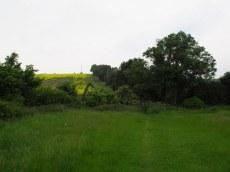 Across the paddocks between villages