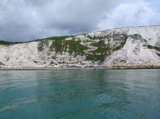 Cliffs of Dover, looks almost like a ski slope