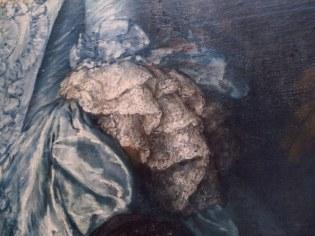 Awesome lace detail on Thomas Landsborough painting