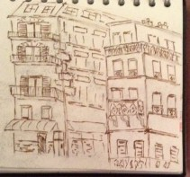 buildings in the 12th. paris