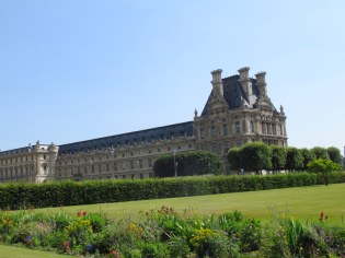 wildflowers and the louvre paris