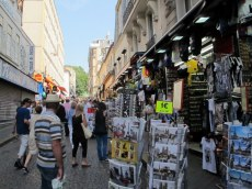 Streets of Montmarte, Paris