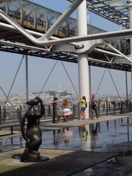 Sacre Coeur from Centre Pompidou