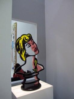 Lichtenstein exhibition, Centre Pompidou