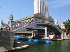 Rue de Crimee bridge