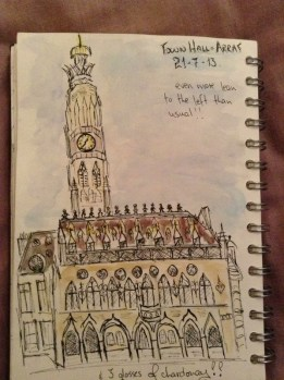 Arras Town Hall and Bell Tower