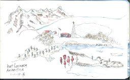 Port Lockroy sketch