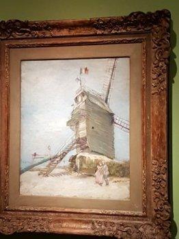 Van Gogh painting at Museo Nacional de Bellas Artes, BA